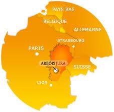 Arbois_mapa