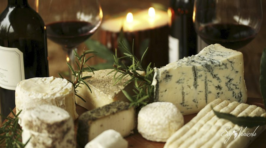combinaciones de vino y queso maridar