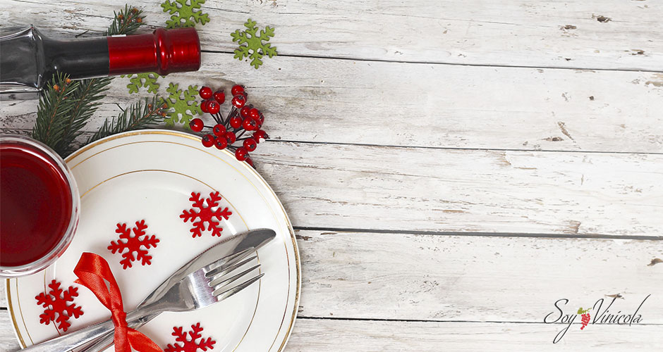 maridaje para la cena navideña vino