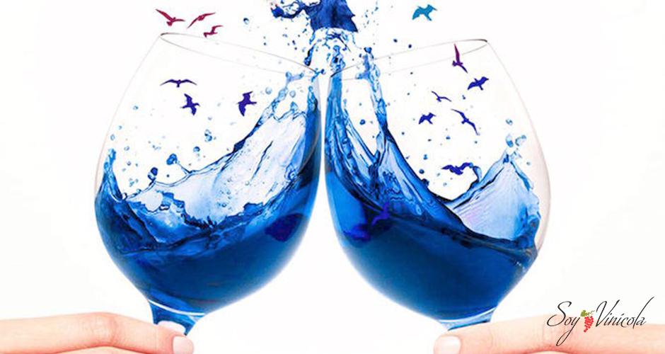 ¿Qué son los vinos azules?