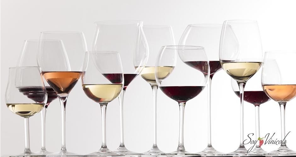Conoce las principales de copas de vino imprescindibles en tu casa